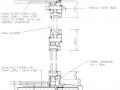 Externally Glazed Casement - Vertical Section