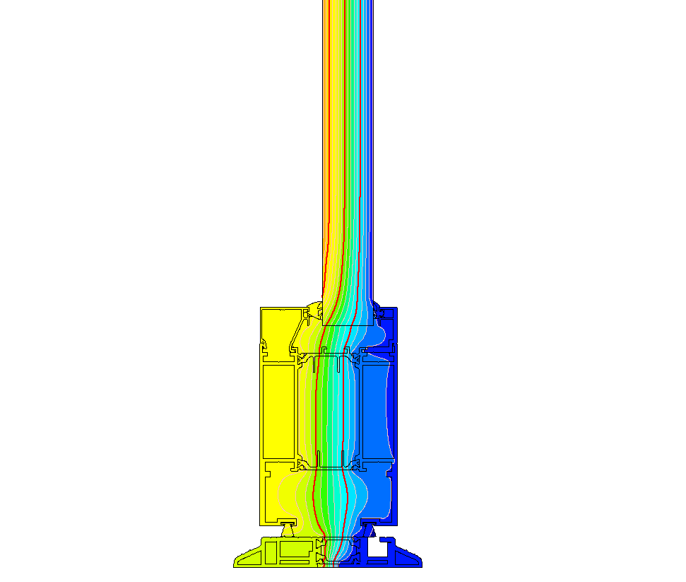 1100 Series Door Threshold - Thermal